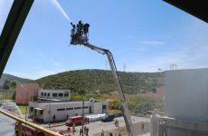 Εκπαίδευση πυροσβεστών στην  Π.Υ ΒΙ.ΠΕ Βόλου