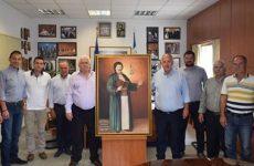 Τίμησαν το πρόεδρο του Αγροτικού  συνεταιρισμού Βόλου  Νικήτα Πρίντζο ο δήμαρχος Ρ. Φεραίου και επιτροπή του δήμου