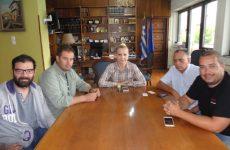 Το νέο ΔΣ του Σωματείου Εκπαιδευτών Υποψηφίων Οδηγών στην αντιπεριφερειάρχη Μαγνησίας