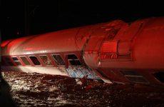 To χρονικό του εκτροχιασμού στο Άδενδρο Θεσσαλονίκης –  Tρεις νεκροί