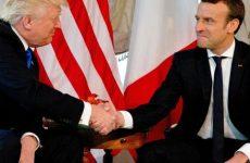 Πρώτη συνάντηση των προέδρων ΗΠΑ και Γαλλίας