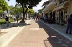 Ολοκληρώθηκε η πεζοδρόμηση της οδού Κροκίου