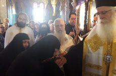 Νέα Μοναχή στην Ιερά Μονή Παναγίας κάτω Ξενιάς