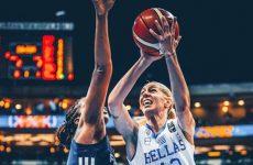 Eurobasket γυναικών: Ήττα για την Εθνική, για το χάλκινο με το Βέλγιο