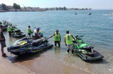 Εντυπωσιακοί αγώνες Jet Ski και απονομή επάθλων στην παραλία του Βόλου
