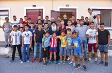 Επίσκεψη Ιγνατίου στην Ακαδημία Ποδοσφαίρου «ΔΗΜΗΤΡΙΑΣ»