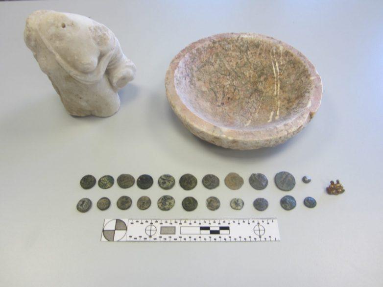 Συνελήφθη για παραβίαση της νομοθεσίας περί αρχαιοτήτων