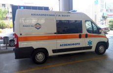 Δωρεά ασθενοφόρο της ΕΒΟΛ στο Νοσοκομείο