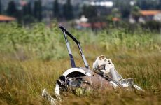 Δύο νεκροί από την πτώση του ψεκαστικού ελικοπτέρου στην περιοχή του Σχοινιά