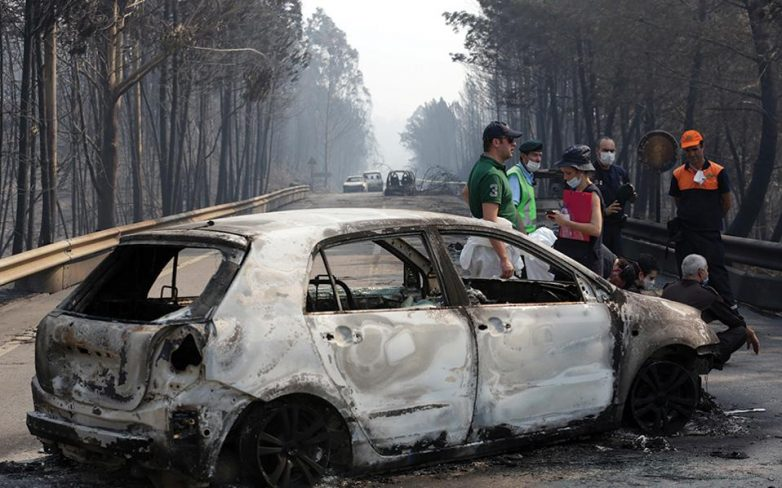 Σε τριήμερο πένθος η Πορτογαλία – 62 οι νεκροί του πύρινου εφιάλτη
