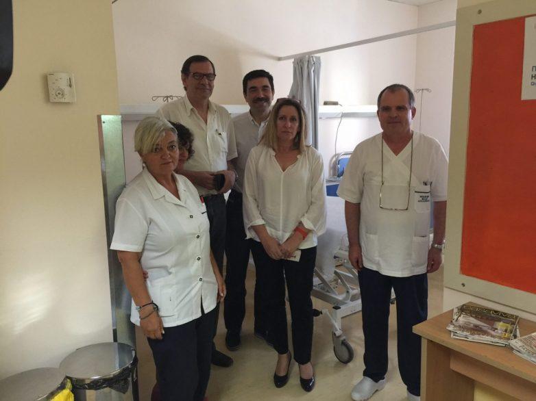 Τμήμα βραχείας νοσηλείας εγκαινιάστηκε σήμερα στο «Αχιλλοπούλειο» Νοσοκομείο Βόλου