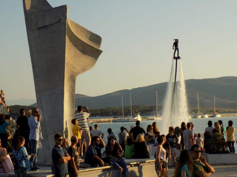 "Tελετή έναρξης του πρωταθλήματος Jet Ski ""Akropolis Jet Raid Greece"""