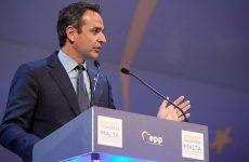 Aγώνα εναντίον του νομοσχεδίου για τα ΑΕΙ προανήγγειλε ο Κυριάκος Μητσοτάκης
