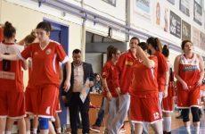 Έναρξη των ομάδων μπάσκετ του Oλυμπιακού Bόλου