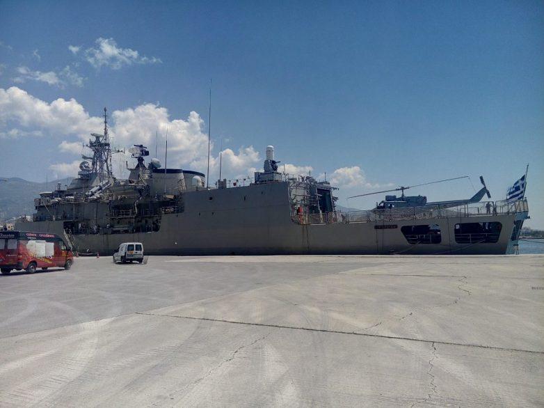 Άγρυπνος «φρουρός» των ελληνικών θαλασσών  η φρεγάτα «Σπέτσαι» που βρίσκεται στο Βόλο
