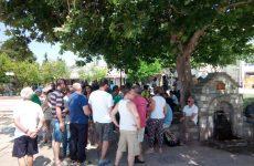 Συλλαλητήριο συμβασιούχων σήμερα στο Βόλο