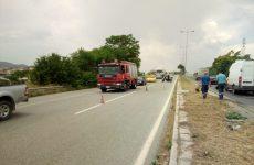 Aυτοκίνητο εξετράπη μετά τη ΒΙΠΕ