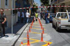 Παρεμβάσεις σε κτήρια και  δρόμους του Βόλου