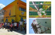 Δημόσιες τοιχογραφίες στην πόλη του Βόλου