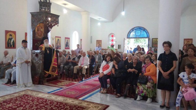 Πανηγύρισε η Ι. Μονή Οσίου Σεραφείμ του Σάρωφ στην Πορταριά