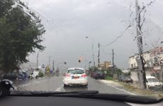 Βροχές, καταιγίδες και χαλάζι την Πέμπτη
