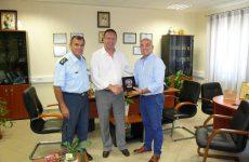 Δωρεά οχήματος για τις ανάγκες της Υποδιεύθυνσης Ασφάλειας Βόλου της Διεύθυνσης Αστυνομίας Μαγνησίας