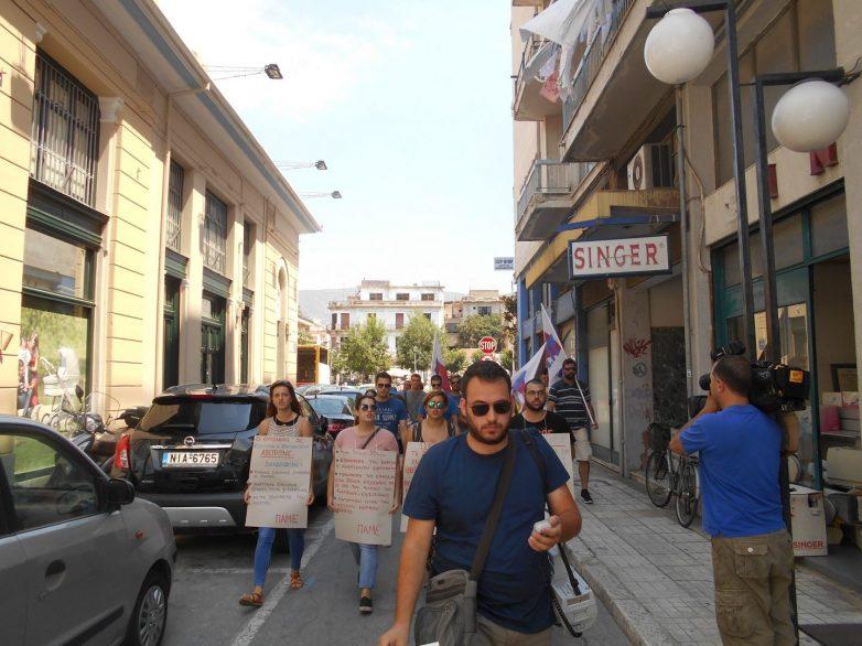Απεργιακή συγκέντρωση εργαζόμενων επισιτισμού-τουρισμού στο Βόλο