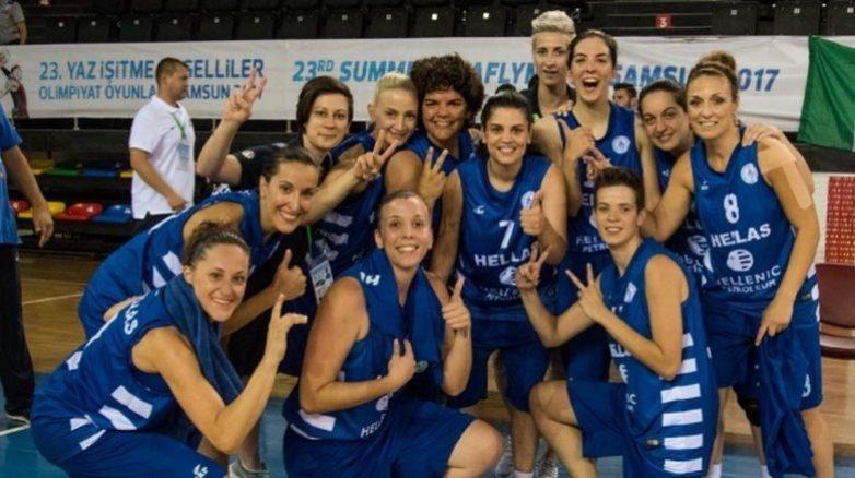 Χρυσή η  Εθνική Κωφών Γυναικών στο μπάσκετ