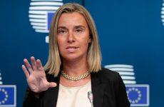 Επίσκεψη της ύπατης εκπροσώπου και αντιπροέδρου της ΕΕ  Federica MOGHERINI στην Αθήνα