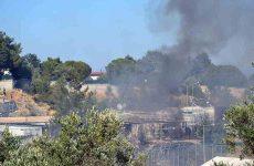 Λέσβος: νέα επεισόδια και φωτιές στο hotspot της Μόριας