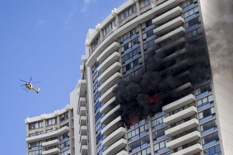 Χονολουλού: φωτιά σε κτίριο 36 ορόφων