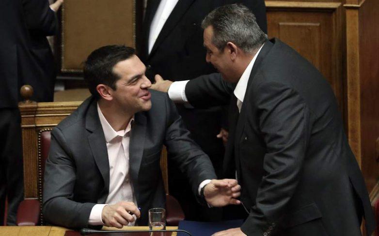 Ενδοκυβερνητικό «μπρα ντε φερ» για το Σκοπιανό
