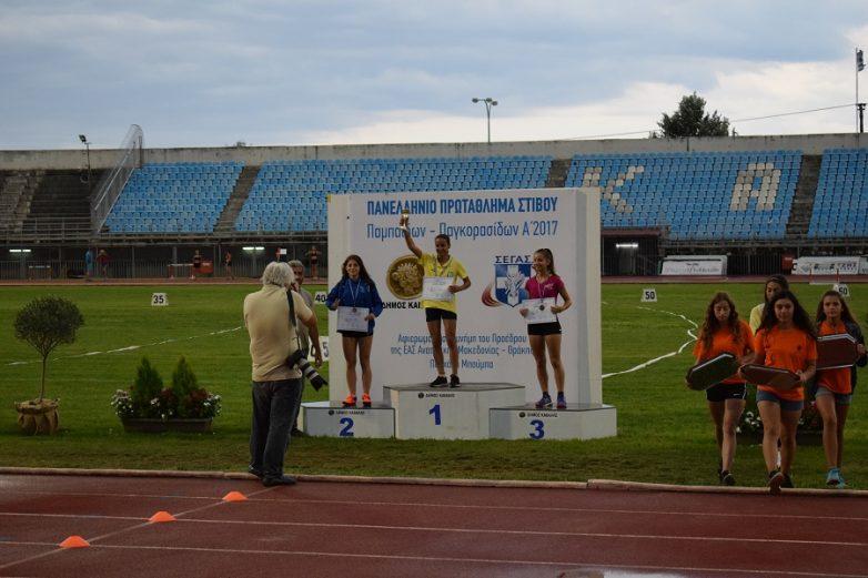Με μετάλλιο επέστρεψε η Νίκη από το Πανελλήνιο Πρωτάθλημα ΠΠ – ΠΚ στην Καβάλα