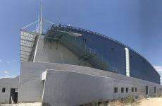 Στο κλειστό γυμναστήριο Καρδίτσας προϋπολογισμού 7,4 εκατ. ευρώ ο περιφερειάρχης Θεσσαλίας