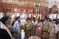 Tελέστηκε το μνημόσυνο του π. Αντωνίου Ζούπη στη Μονή Ταξιαρχών Πηλίου