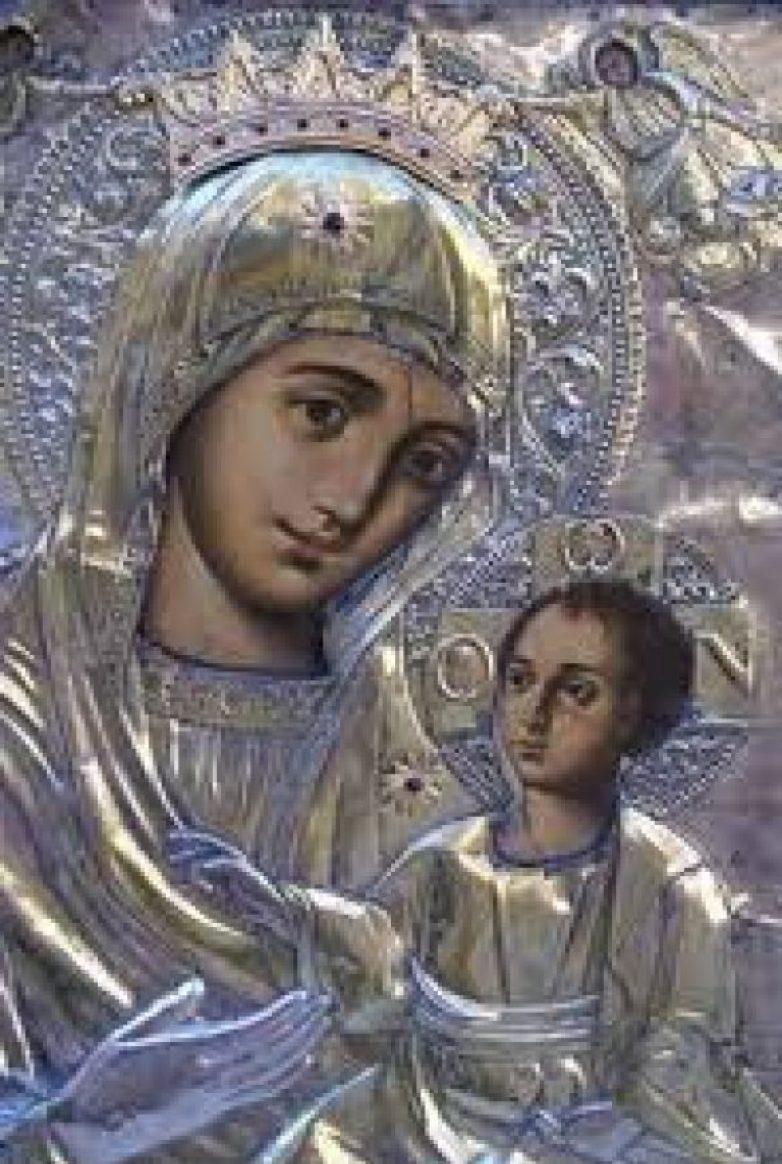 Η ιερά εικόνα της Παναγίας Δαμάστας στην Ευξεινούπολη