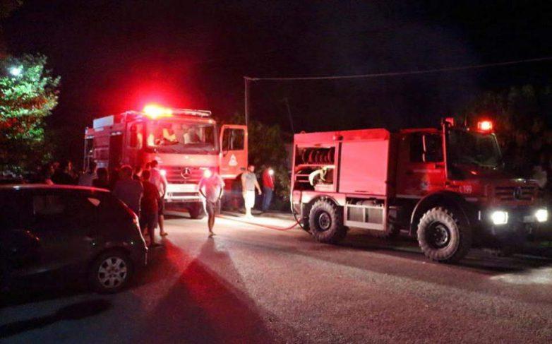 Ζημιές προκάλεσε φωτιά σε μονοκατοικία στη Ν.Ιωνία