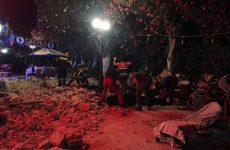 Σοβαρές ζημιές από τον ισχυρό σεισμό στα Δωδεκάνησα (ΦΩΤΌ)