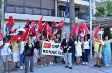 Τούρκοι εθνικιστές διαμαρτυρήθηκαν έξω από το ελληνικό προξενείο στη Σμύρνη