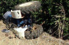 Νεκρός 58χρονος από ανατροπή τρακτέρ