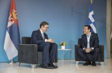 Τσίπρας: ιστορικοί οι δεσμοί Ελλάδας-Σερβίας