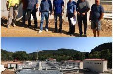 Στον βιολογικό καθαρισμό του Αγιοκάμπου ο Περιφερειάρχης Θεσσαλίας και ο Δήμαρχος Αγιάς