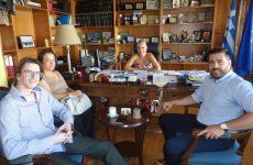 Συνάντηση αντιπεριφερειάρχη με το ΔΣ του Εμπορικού Συλλόγου