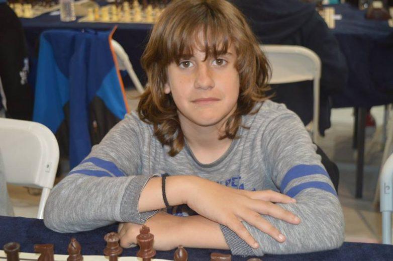 Εξαιρετικός ο 13χρονος Βολιώτης Τσαρσιταλίδης Κων/νος στο Διεθνές Τουρνουά Σκάκι Καβάλας