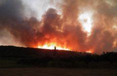 Πυρκαγιά στον Ξηρόκαμπο Αρχαίας Ολυμπίας