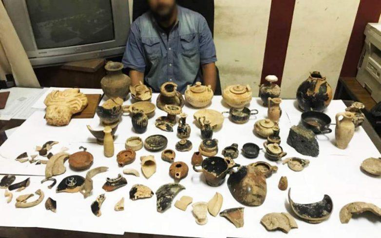 Η παγίδα στον Λίβυο αρχαιοκάπηλο