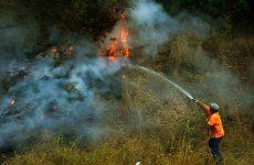 Βελτιωμένη η εικόνα από την πυρκαγιά στη Ζάκυνθο