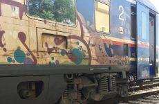 Εκτροχιάστηκε τρένο στην Λάρισα