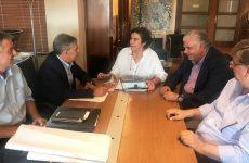 Σύσκεψη υπουργού Πολιτισμού Λ. Κονιόρδου με τον περιφερειάρχη Θεσσαλίας  και τον δήμαρχο Καλαμπάκας