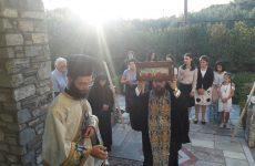 Ο γέροντας πρ. Πειραιώς Καλλίνικος στην πανήγυρη της Αγίας Ζώνης στο Βόλο